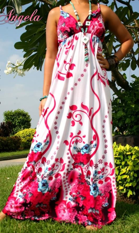 Letní šaty dlouhé - 1108  2649d6979fc