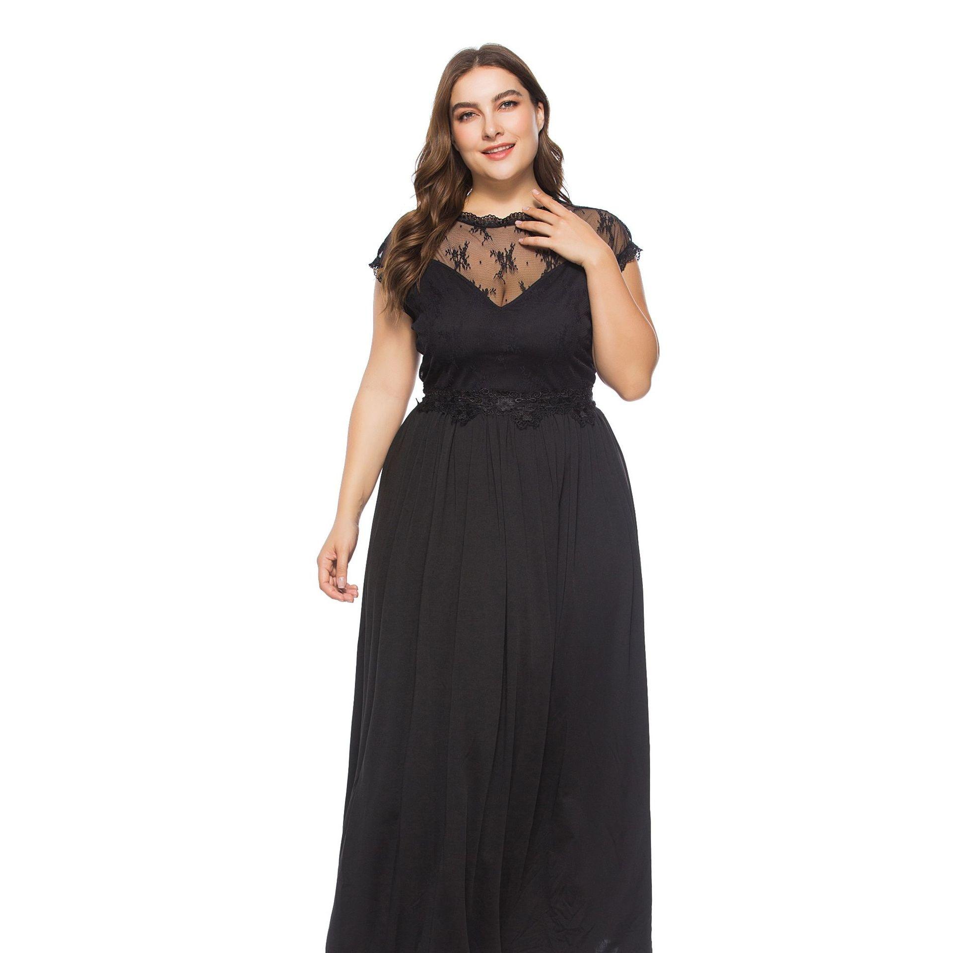 0461ae844ac Plesové šaty Daria 5 plus size - více barev