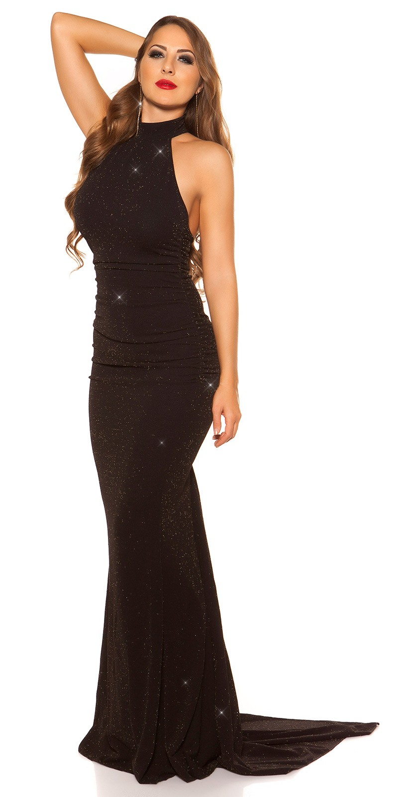 a5ea7f87ef3 Plesové šaty - IF 0414 - černé
