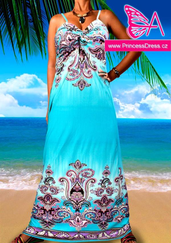 Letní šaty dlouhé - 2035 d8ab05a9e24