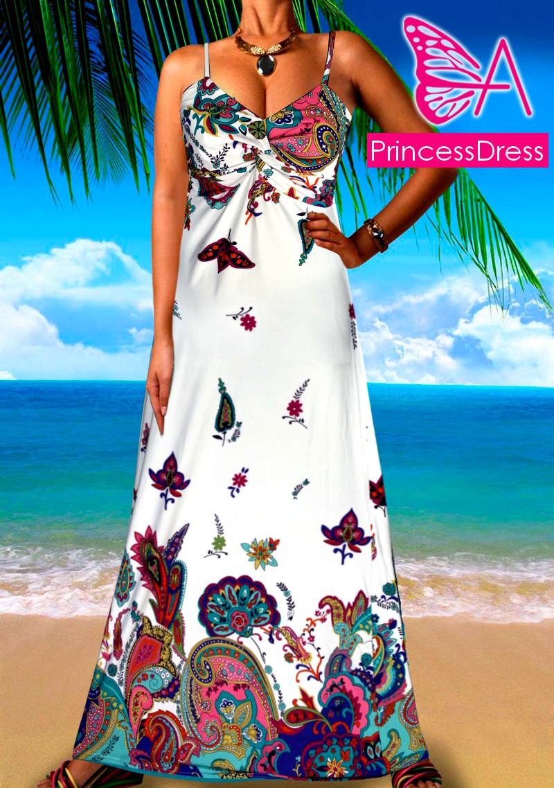 Letní šaty dlouhé - 2001  678a1d4eabf