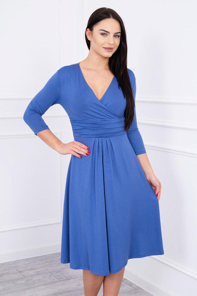22858a8f6bea HK - Společenské šaty s výstřihem - více barev - S až 4XL