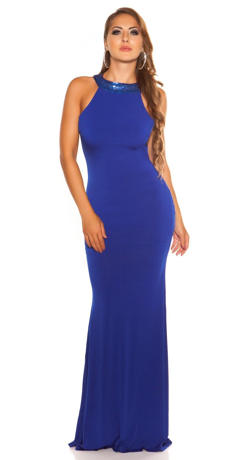 6b68fd2e1fad Plesové šaty - IF 19099 - modré