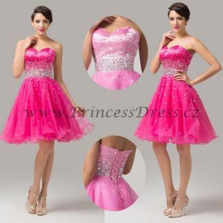 a27c5fc5771 Plesové šaty krátké - Ines