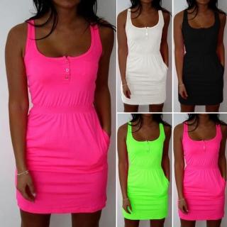 86ed504f3d01 Výprodej - sleva - koktejlové šaty 15 Neon více barev