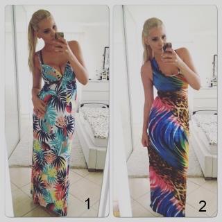 54d185a08f7 Výprodej - sleva - letní šaty dlouhé fk1