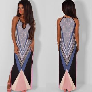 661a01d3d16 Letní šaty dlouhé BOHO - NO3
