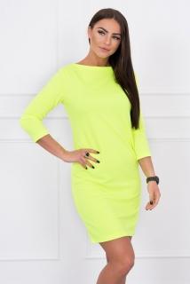 abffe934620d HK - Pohodlné šaty Neon rovný vršek - více barev