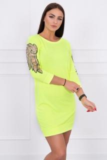 3504009d02be HK - Pohodlné šaty Neon s křídly - více barev