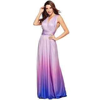 e196478f5be4 Plesové šaty dlouhé - Výprodej 4 - družičkové stínované Více barev 01
