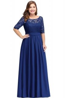 a2804ea65c6e Plesové šaty Daria 2 plus size - MS - více barev