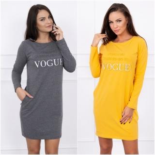a6806c877051 HK - Tunika - šaty Vogue s dl. rukavem - více barev
