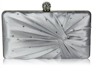 Luxusní psaníčko stříbrné s kamínkama
