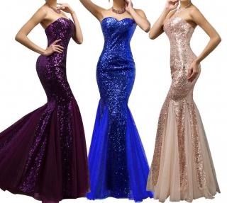 Plesové šaty - Clara - více barev b5f4e79619