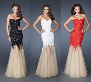Plesové šaty Freya krajkové 4853f5ca84