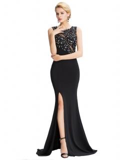 Plesové šaty Shannon - černé 1eb60fe1bf